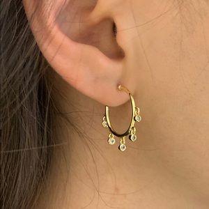 Jewelry - Dangle hoop